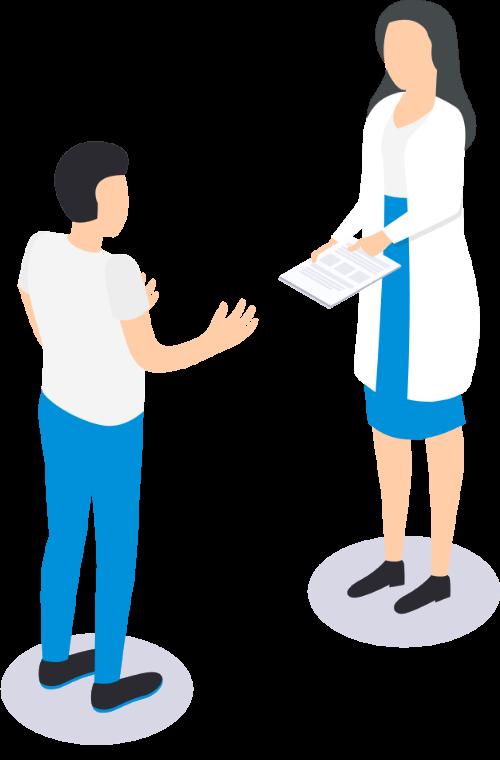 ケアリーの健康診断は、予約から事後措置、労基署報告をペーパレス化し、人事労務の工数削減を実サポートします。